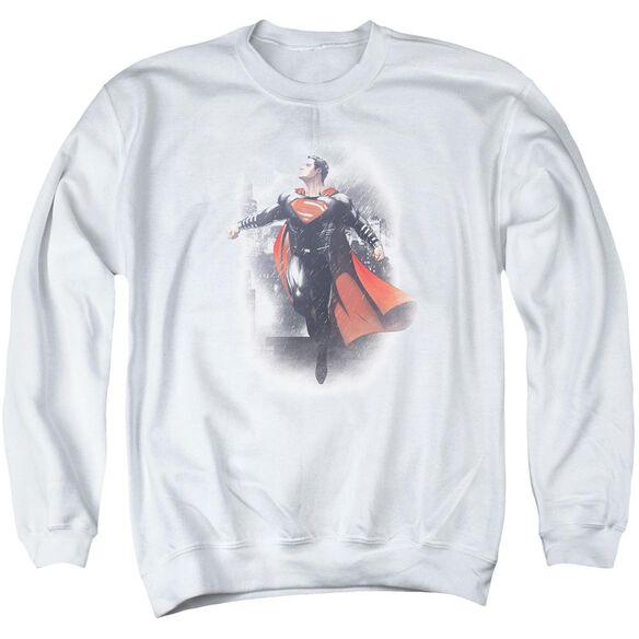 Batman Vs Superman A New Dawn Adult Crewneck Sweatshirt
