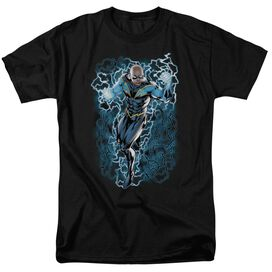 Jla Lightning Bolts Short Sleeve Adult T-Shirt