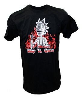 Rick & Morty - I Always Slay It, Queen T-Shirt