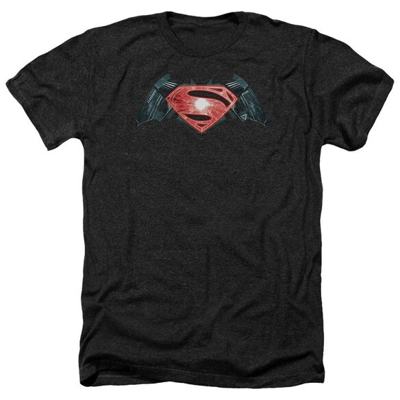 Batman V Superman Industrial Logo Adult Heather