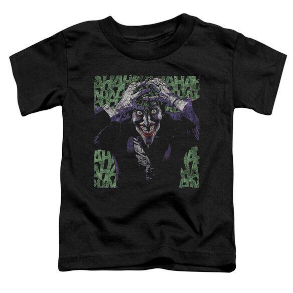 Batman Insanity Short Sleeve Toddler Tee Black T-Shirt