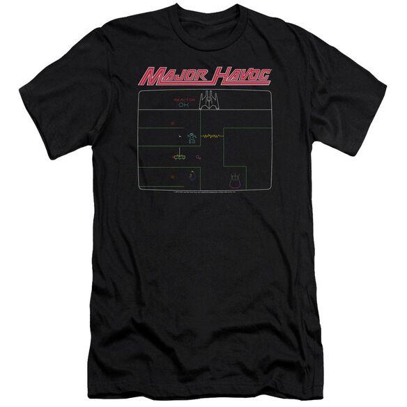 Atari Major Havoc Screen Premuim Canvas Adult Slim Fit