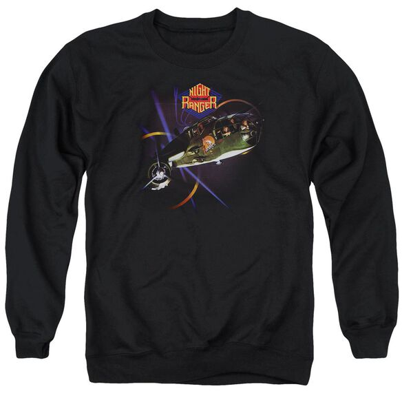Night Ranger 7 Wishes Adult Crewneck Sweatshirt