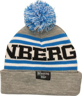 Breaking Bad Heisenberg Name and Face Pom Beanie