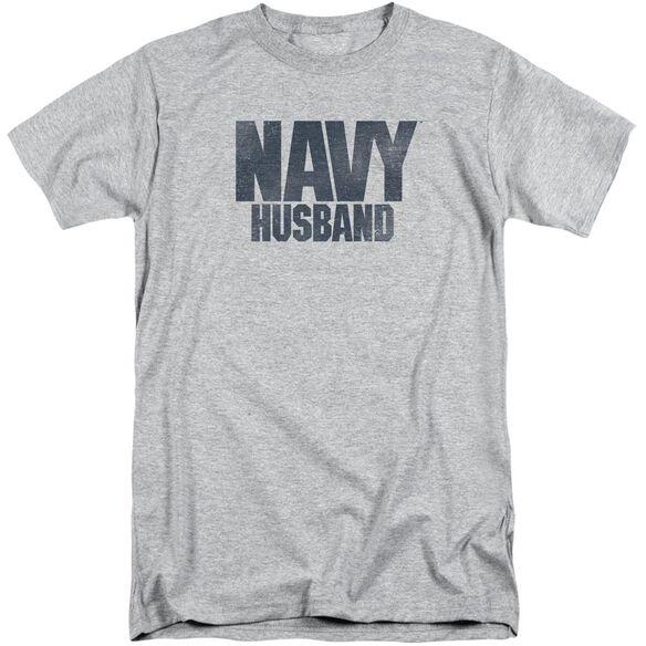 Navy Husband Short Sleeve Adult Tall Athletic T-Shirt