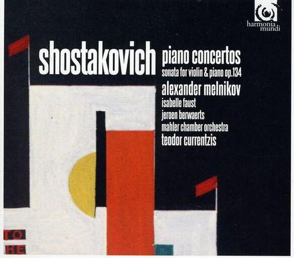 Piano Concertos 1 & 2 / Violin Sonata Op 134