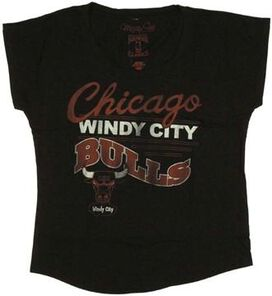 NBA Bulls Ladies Tee