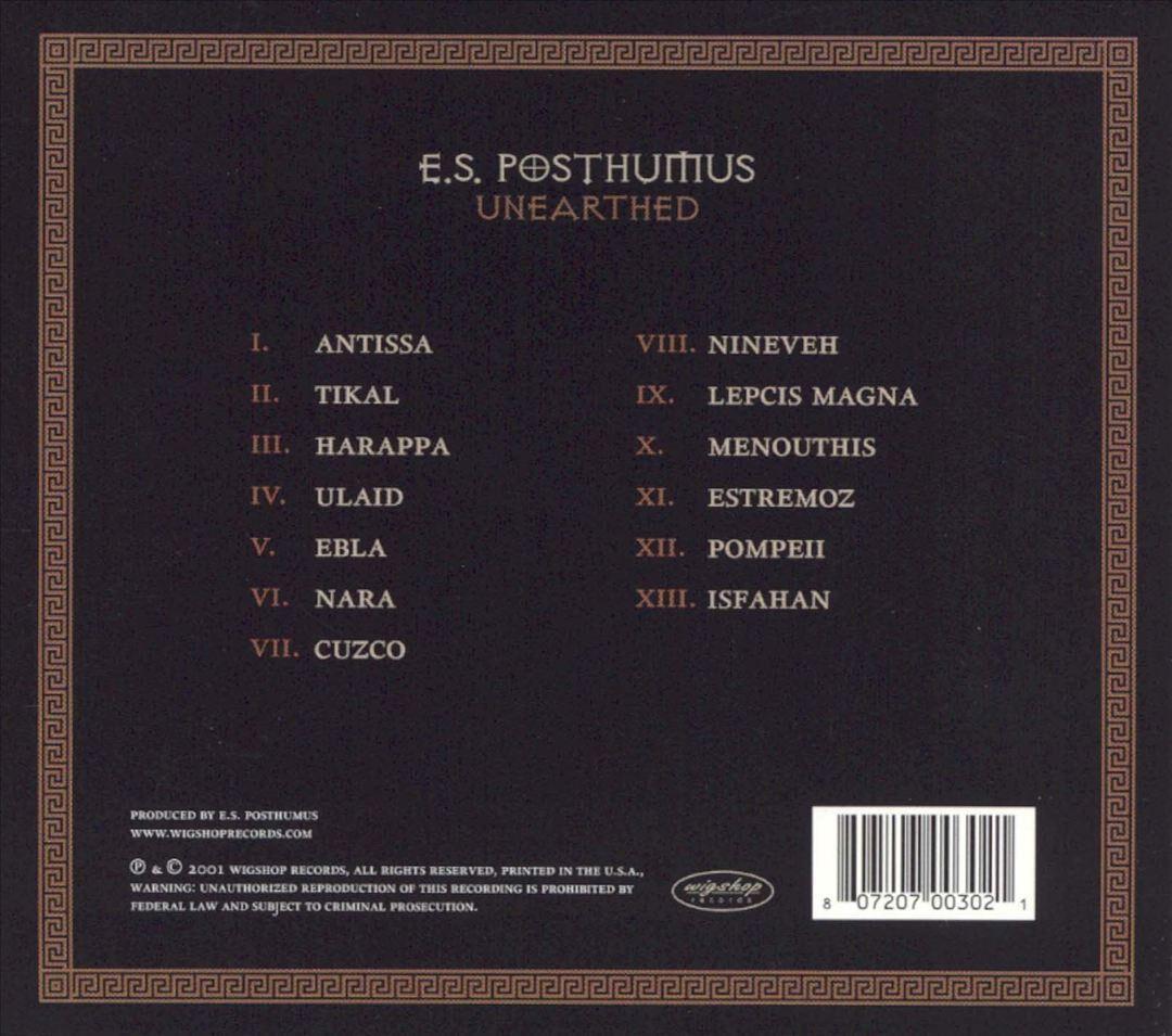 cd e.s.posthumus
