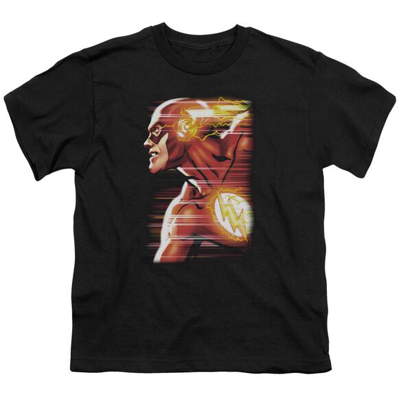 Jla Speed Head Short Sleeve Youth T-Shirt
