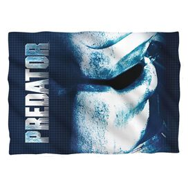 Predator Mask Pillow Case White
