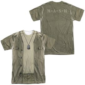 MASH HAWKEYE COSTUME (FRONT/BACK PRINT)-S/S ADULT T-Shirt