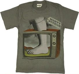 Monty Python Foot TV T-Shirt Sheer