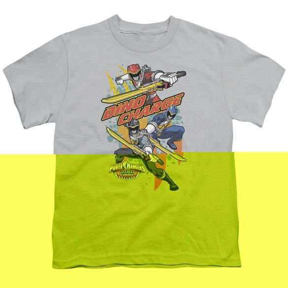 Power Rangers Swords Out Short Sleeve Youth T-Shirt