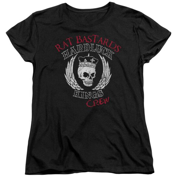 Hardluck Kings Rat Bastards Logo Short Sleeve Womens Tee T-Shirt