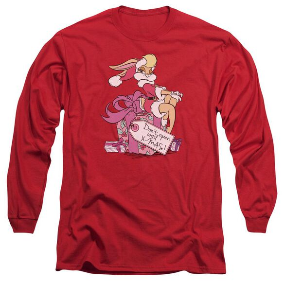 Looney Tunes Lola Present Long Sleeve Adult T-Shirt
