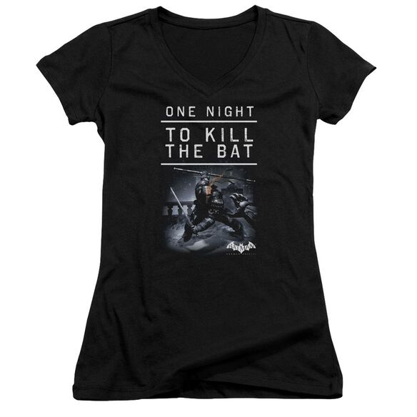 Batman Arkham Origins One Night Junior V Neck T-Shirt