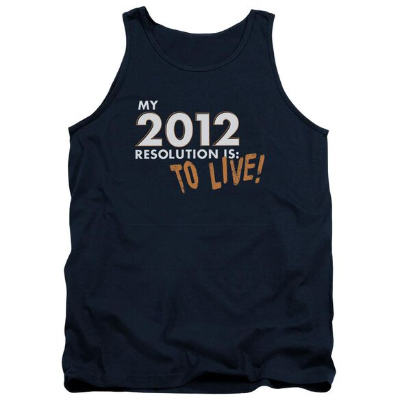 To Live! Adult Tank