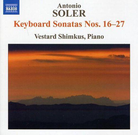 Soler: Keyboard Sonatas Nos. 16 27