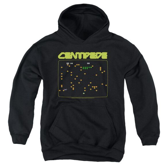 Atari Centipede Screen Youth Pull Over Hoodie