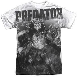 Predator In The Jungle Short Sleeve Adult Poly Crew T-Shirt