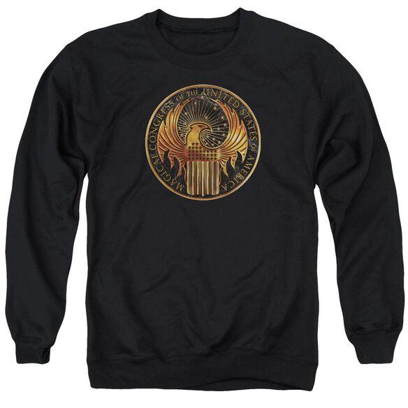 Fantastic Beasts Magical Congress Crest Adult Crewneck Sweatshirt