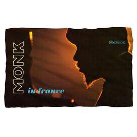 Thelonious Monk In France Fleece Blanket