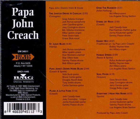 Papa John Creach 497