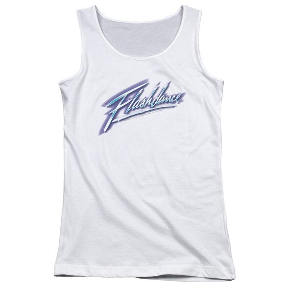 Flashdance Logo Juniors Tank Top