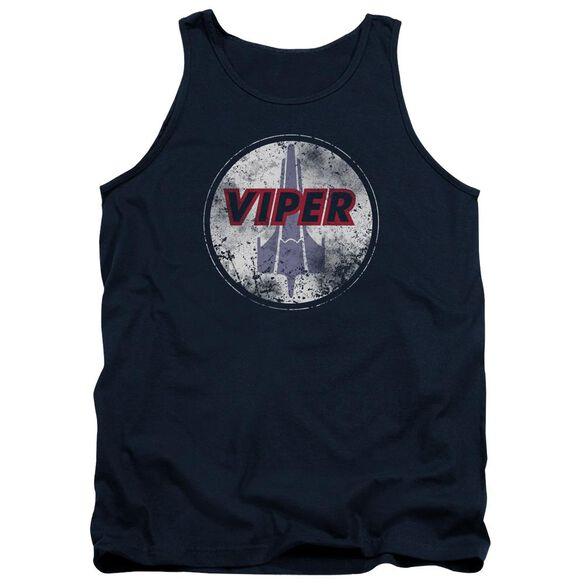 Bsg War Torn Viper Logo Adult Tank