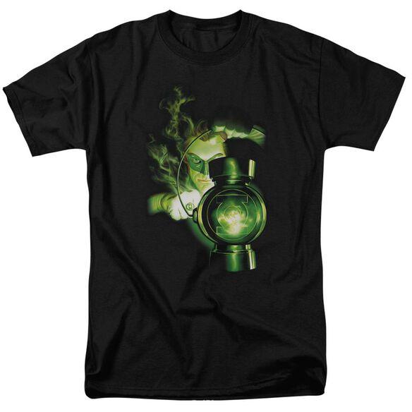 Green Lantern Lantern Light Short Sleeve Adult T-Shirt