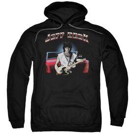 Jeff Beck Jeffs Hotrod Adult Pull Over Hoodie Black