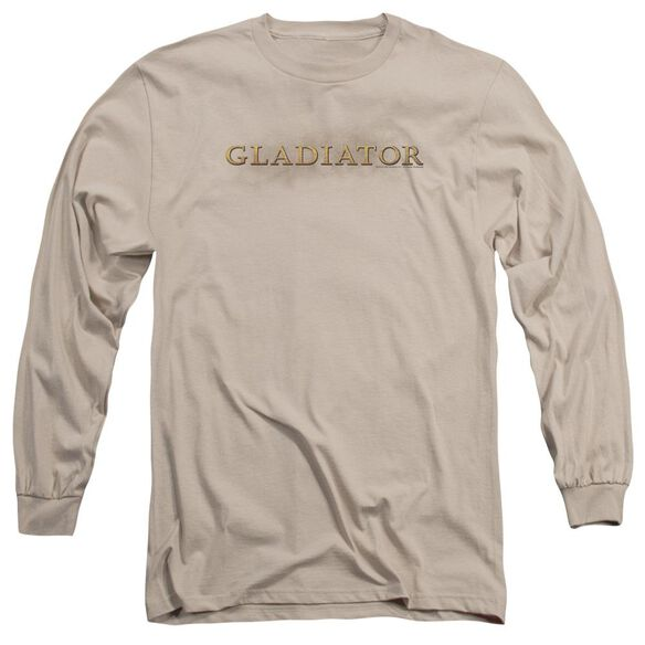 Gladiator Logo Long Sleeve Adult T-Shirt