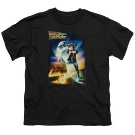 Back To The Future Poster Short Sleeve Youth T-Shirt