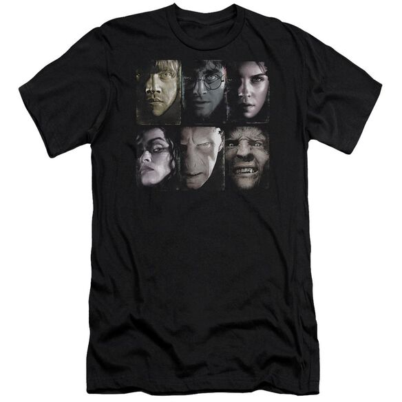 Harry Potter Horizontal Heads Hbo Short Sleeve Adult T-Shirt
