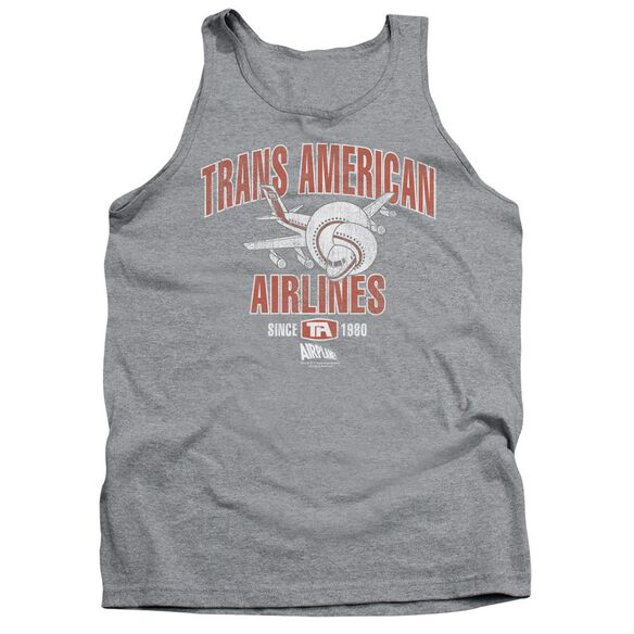 Airplane Trans American Adult Tank Athletic