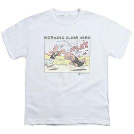Popeye Blue Bash Short Sleeve Youth T-Shirt