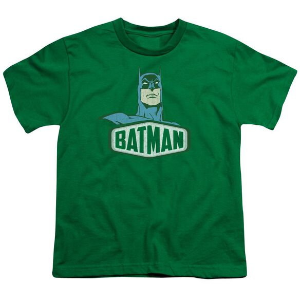 Dco Batman Sign Short Sleeve Youth Kelly T-Shirt