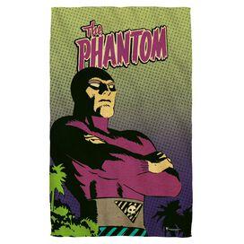Phantom Island Face Hand Towel