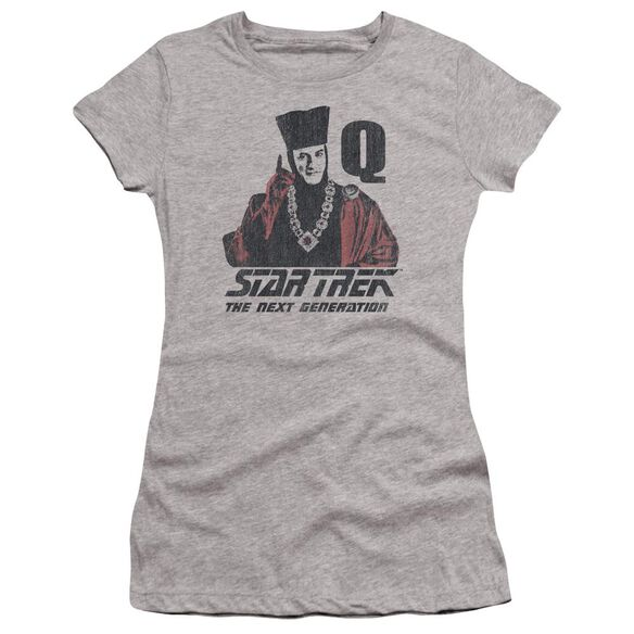 Star Trek Q Point Premium Bella Junior Sheer Jersey Athletic