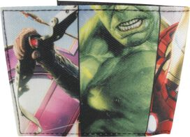 Avengers Age of Ultron Strips Bifold Wallet