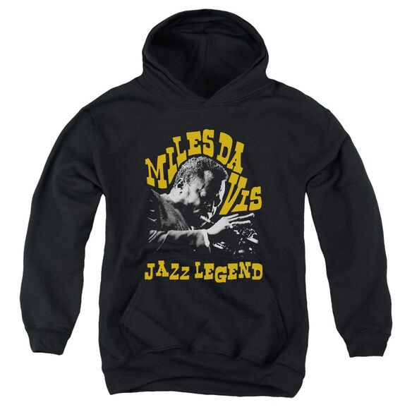 Miles Davis Jazz Legend Youth Pull Over Hoodie