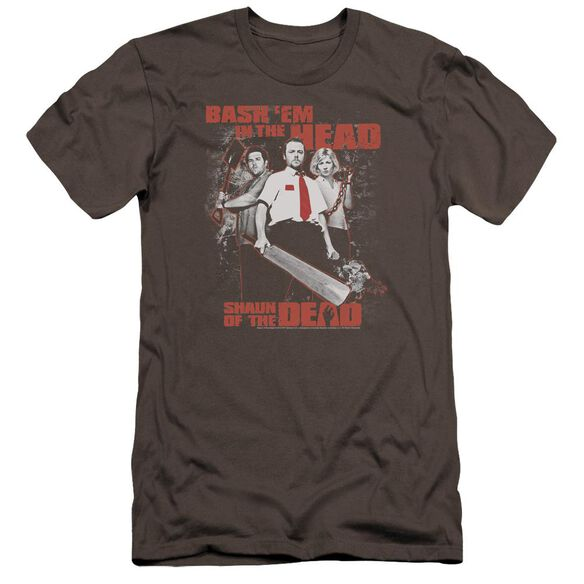 Shaun Of The Dead Bash Em Premuim Canvas Adult Slim Fit