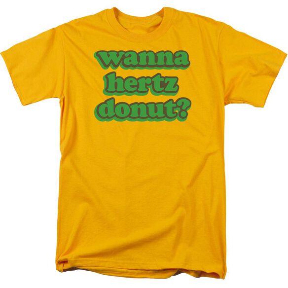 HERTZ DONUT - ADULT 18/1 - GOLD T-Shirt