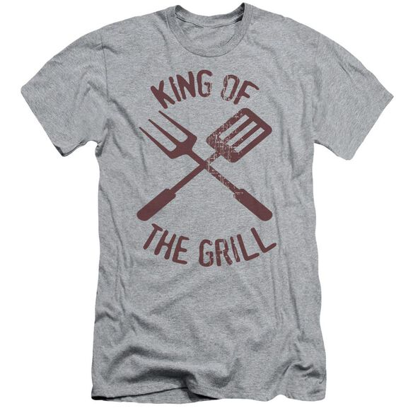 King Of The Grill Short Sleeve Adult Athletic T-Shirt