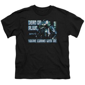 Robocop Dead Or Alive Short Sleeve Youth T-Shirt