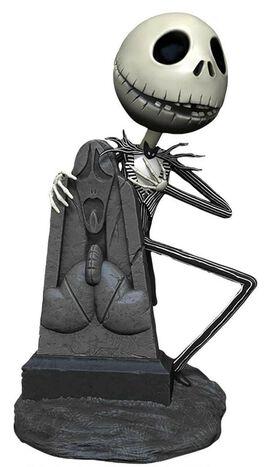 Nightmare Before Christmas Head Knockers Graveyard Jack 7-Inch Bobble Figure