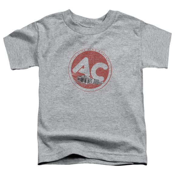 Ac Delco Ac Circle Short Sleeve Toddler Tee Athletic Heather T-Shirt