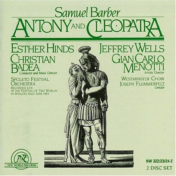 Samuel Barber - Antony & Cleopatra