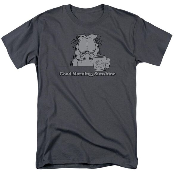Garfield Good Morning Sunshine Short Sleeve Adult T-Shirt