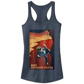 NASA Mars Climber Tank Top Juniors T-Shirt